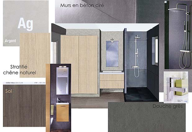 planche salle de bain b ton 1 clotilde vanoye design d espace et architecture interieure. Black Bedroom Furniture Sets. Home Design Ideas